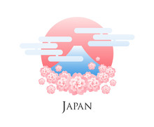 Hanami Japan Abstract Vector I...