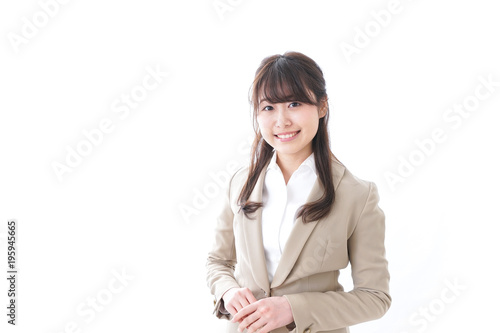 Fotografia, Obraz Smiling young businesswoman