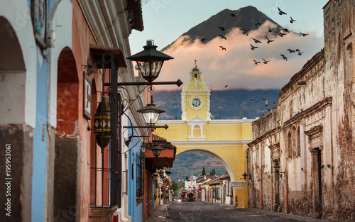 Acrylic Prints Central America Country Antigua