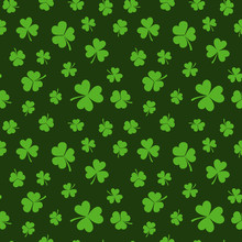 St. Patricks Day Vector Seamle...