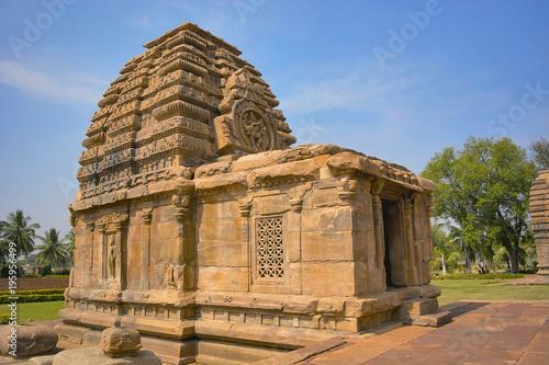 Poster Monument Jambulingeshwara temple, Pattadakal, Karnataka