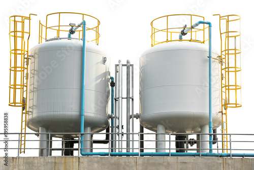 Photo Gas storage tank