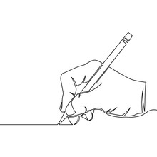 One Continuous Line Drawing Of...