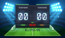 Stadium Electronic Sports Scor...