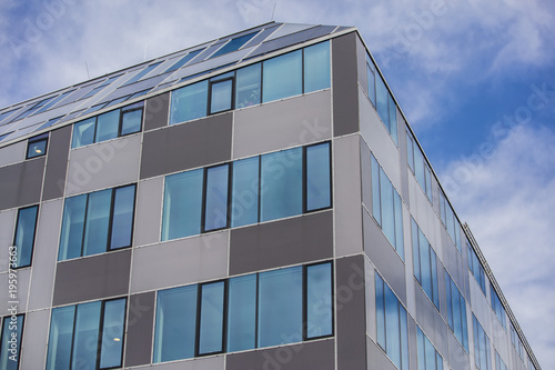 Cadres-photo bureau Batiment Urbain futuristic windows on modern building