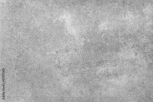 Poster Betonbehang Gray cement wall texture or stone background