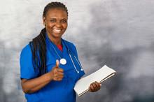 Portrait Of A Young Nurse.