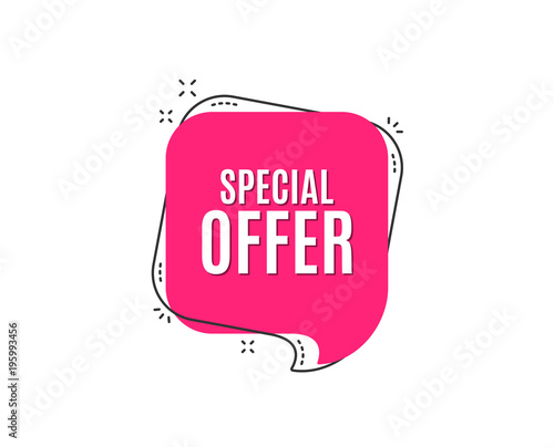 Fotografía  Special offer symbol
