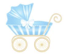 Vintage Pram Stroller For Baby...