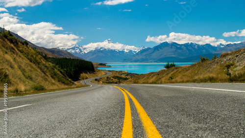 View of Mount Cook