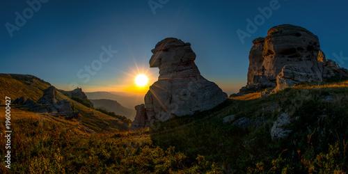 Poster Marron chocolat mountain landscape Crimea