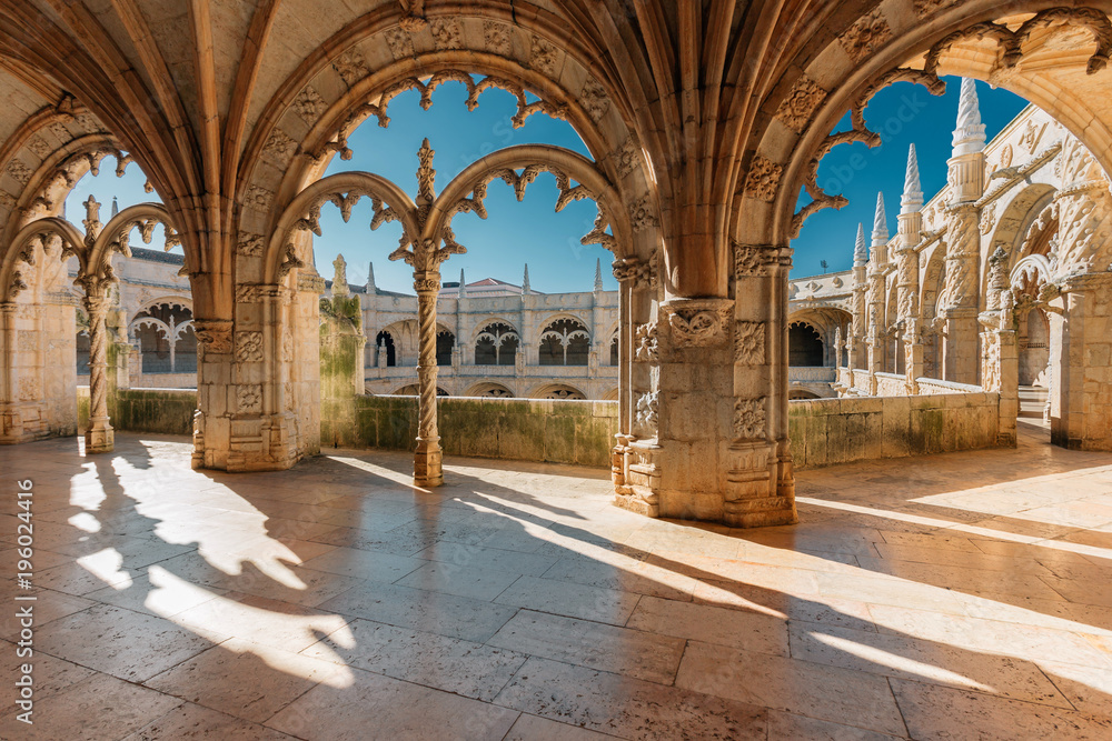 Fototapety, obrazy: Jeronimos monastery in Lisbon, Portugal.