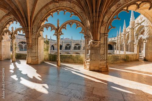 Fotografia Jeronimos monastery in Lisbon, Portugal.