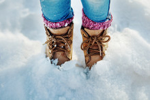 Boots In The Snow, Girl Boots ...