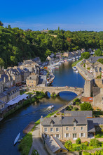 Village Dinan In Brittany - Fr...