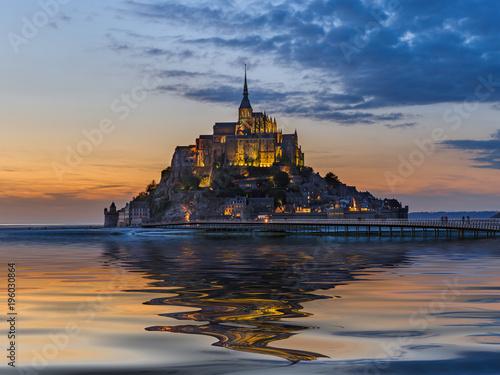 Mont Saint Michel Abbey - Normandy France Poster