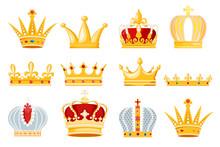 Crown Vector Golden Royal Jewe...