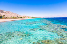 Eilat, Israel. Beautiful Sea, ...