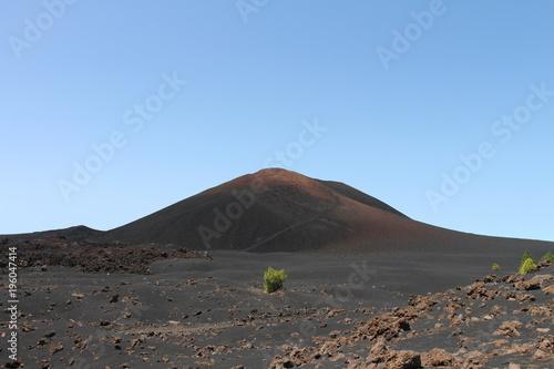 Foto op Aluminium Cappuccino Volcán Negro