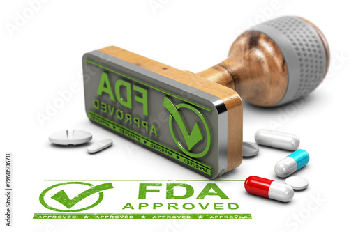 FDA Approved Drugs Canvas Print