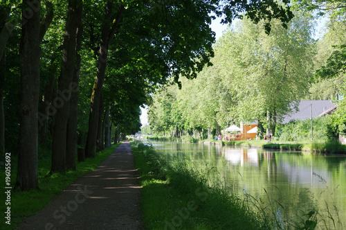 Fotografie, Obraz  canal du Nivernais, France