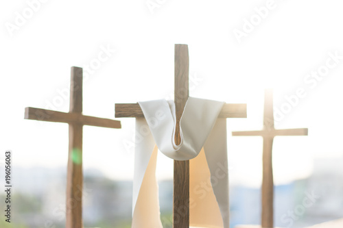 Canvas Print 3 Crosses