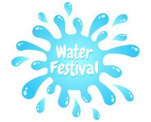 Logo For Water Festival