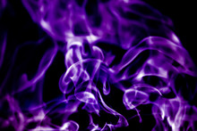Beautiful Violet Tongues Of Fl...