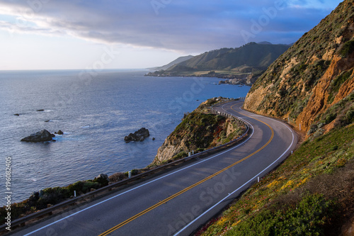 Fotobehang Kust Pacific Coast Highway