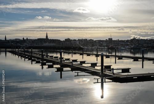 Zdjęcie XXL Dun Laoghaire, port w Dublinie