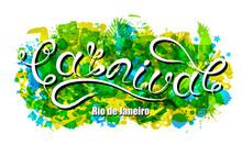 Carnival Lettering For Rio De ...