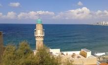 Beachfront In Jaffa, Israel