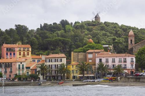 Tuinposter Mediterraans Europa Image of Collioure