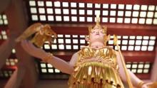 Nashville Parthenon Athena Close Slow Dolly Backwards