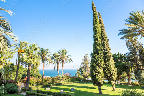 Photo Israel, Galilee. Mount of Beatitudes.