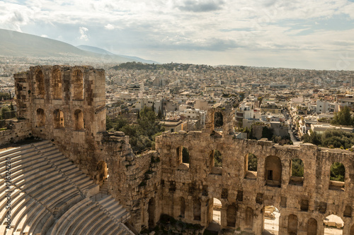 Fotobehang Athene Athens - remains of ancient culture