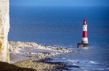 View Of Beachy Head Lighthouse...