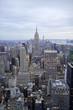 Ausblick vom Rockefeller Center am Abend, Manhattan, New York City, New York, USA, Nordamerika