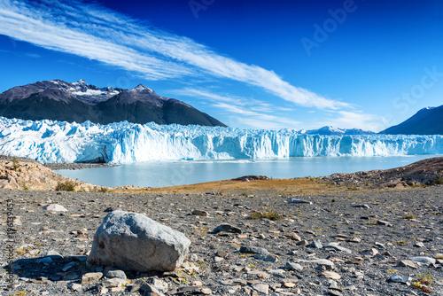 Poster Gletsjers The Perito Moreno glacier in Glaciares National Park outside El Calafate, Argentina