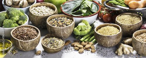 Fotografía  Health food concept