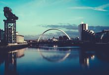 Clyde Arc Squinty Bridge, Glas...
