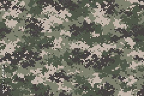 Pinturas sobre lienzo  Woodland summer camouflage