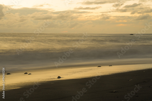 Foto op Plexiglas Canarische Eilanden Sunset at the beach