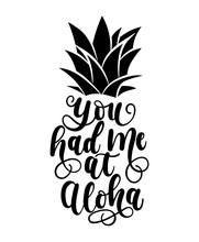 You Had Me At Aloha Card With ...