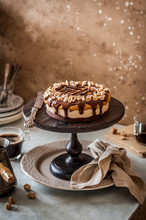 Snickers Layer Cake