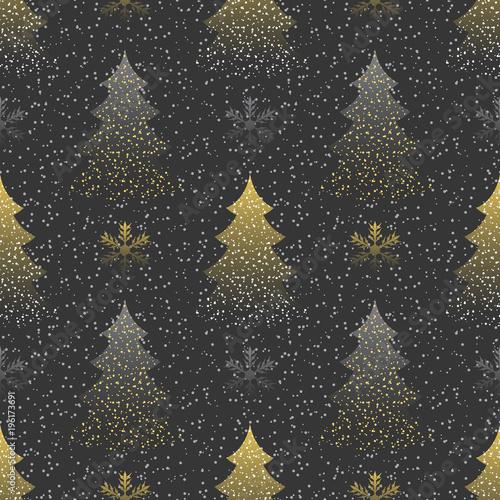 fototapeta na lodówkę Seamless a festive pattern