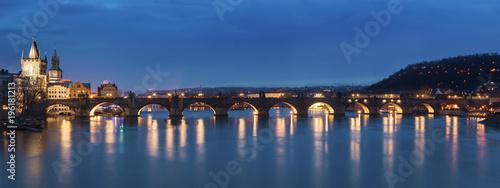 Poster Prague Charles Bridge Prague