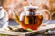 Frisch gebrühter Tee