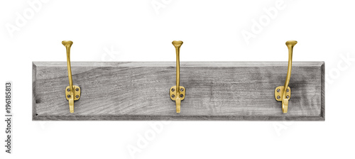 Fotografie, Tablou  Wall hanger isolated on white, including clipping path