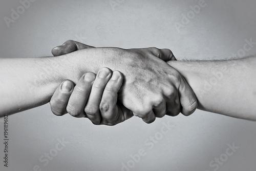 Obraz na plátně Concept of salvation